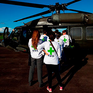 Ação Social Juntamente ao Expedicionário da Saúde