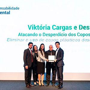 Viktoria Cargas no 5º Prêmio de Sustentabilidade